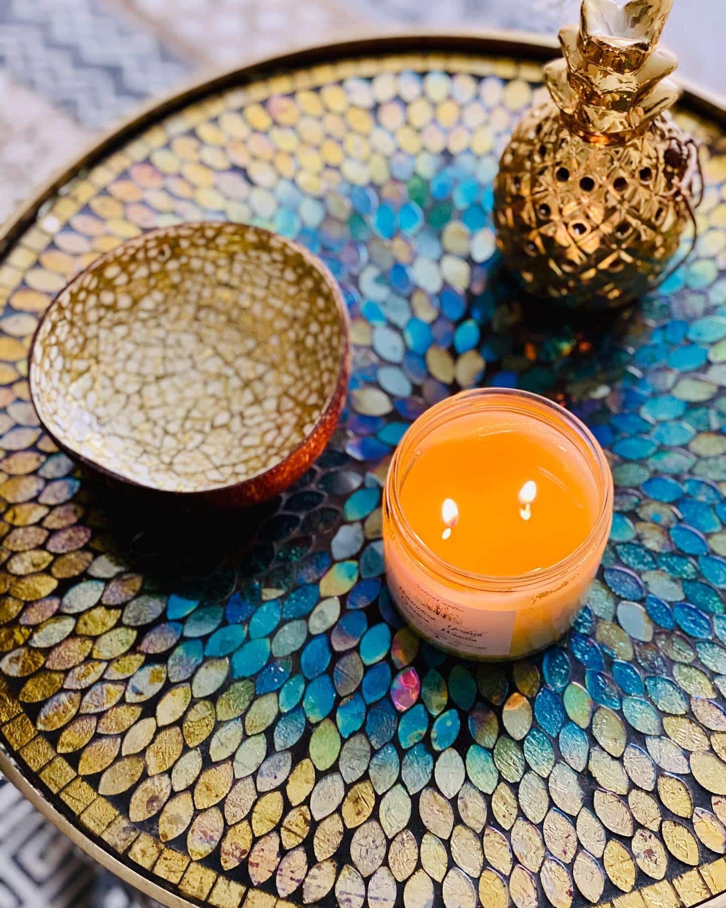 Jak używać świec sojowych